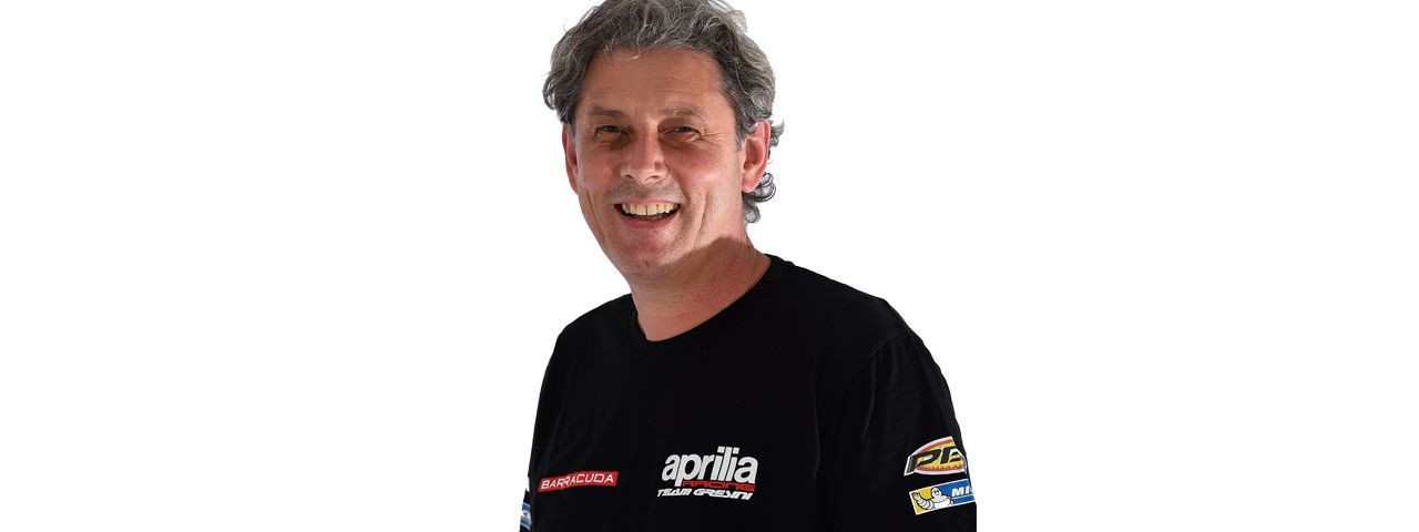 Massimo Meneghin - Aprilia Racing Spare Parts Manager