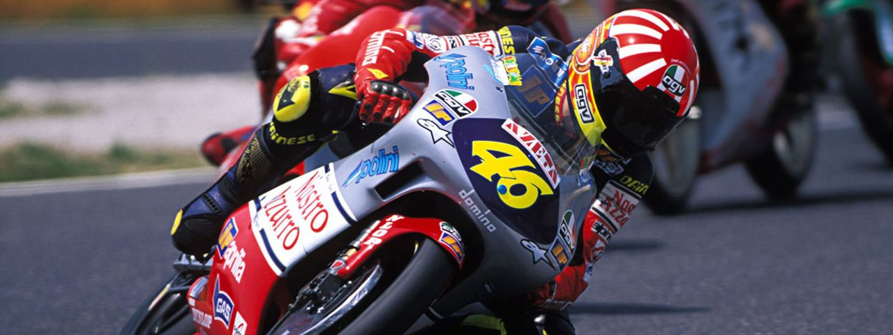 1997 - VALENTINO'S FIRST WORLD TITLE