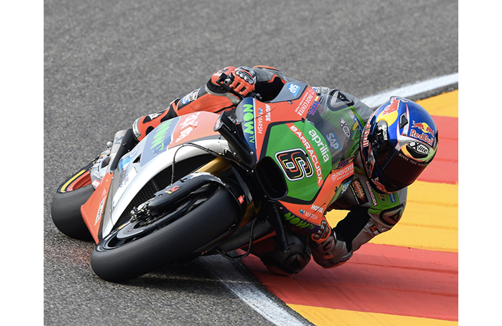 A GOOD START FOR APRILIA AT THE ARAGÓN MOTOGP WEEKEND_1