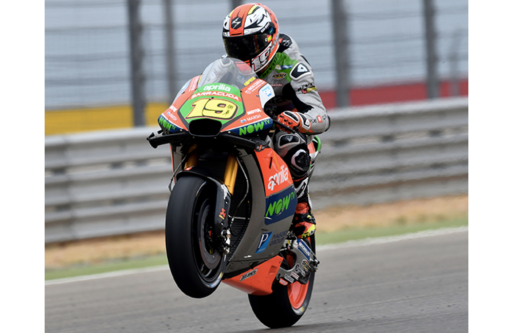 A GOOD START FOR APRILIA AT THE ARAGÓN MOTOGP WEEKEND_0