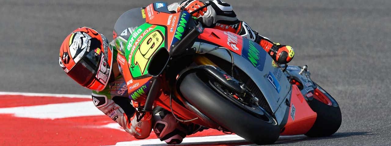 PENULTIMATE EUROPEAN MOTOGP RACE FOR APRILIA