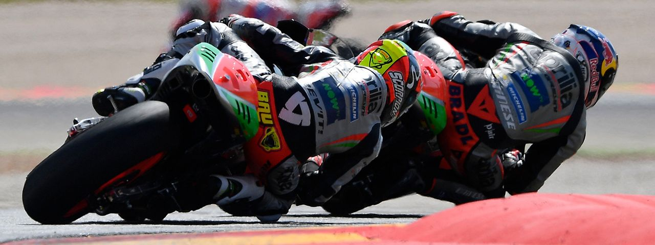 GOOD RACE AND EXCELLENT RESULT FOR THE APRILIAS AT ARAGÓN