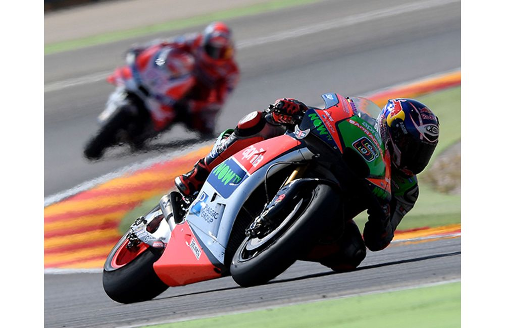 GOOD RACE AND EXCELLENT RESULT FOR THE APRILIAS AT ARAGÓN_2