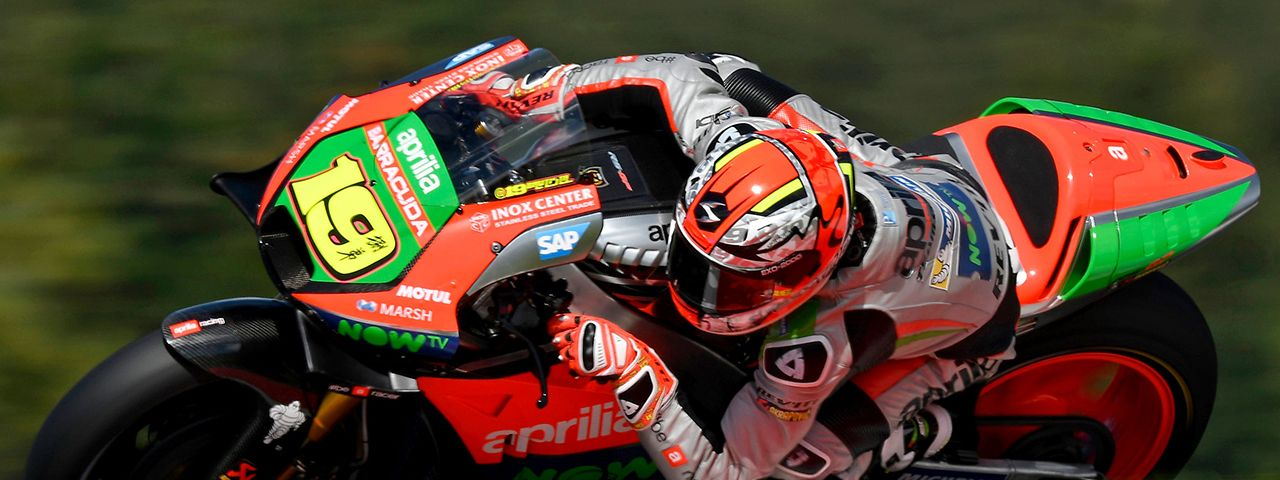 APRILIA HIGHLY MOTIVATED AT BRNO