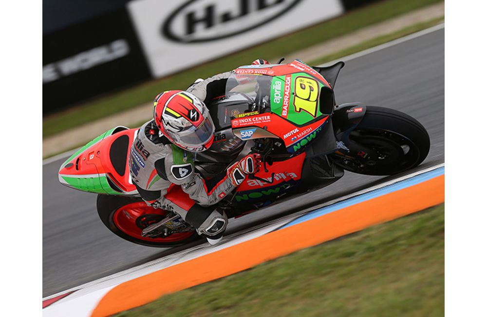 APRILIA IN THE POINTS WITH STEFAN BRADL_0