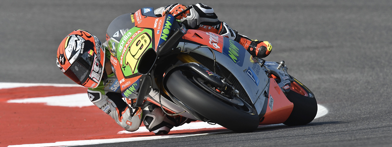 THE MOTOGP WEEKEND STARTS WELL FOR APRILIA