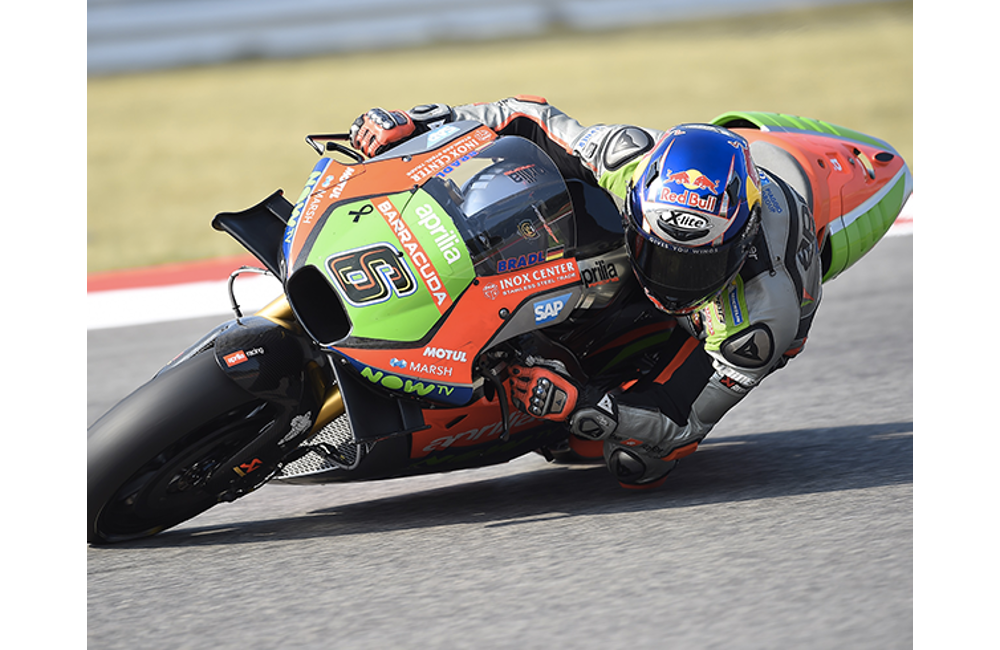 THE MOTOGP WEEKEND STARTS WELL FOR APRILIA_MotoGP - Misano - FP1
