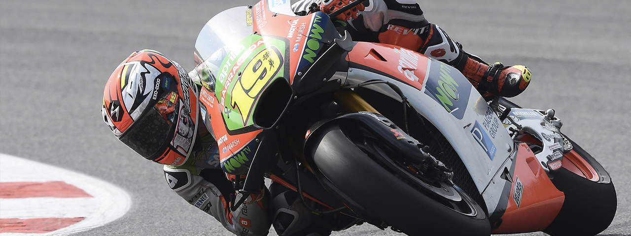 APRILIA GOES THROUGH TO Q2 FOR THE FIRST TIME