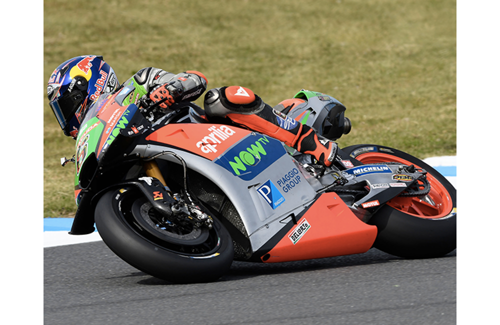 ENCOURAGING START FOR APRILIA AT MOTEGI_3