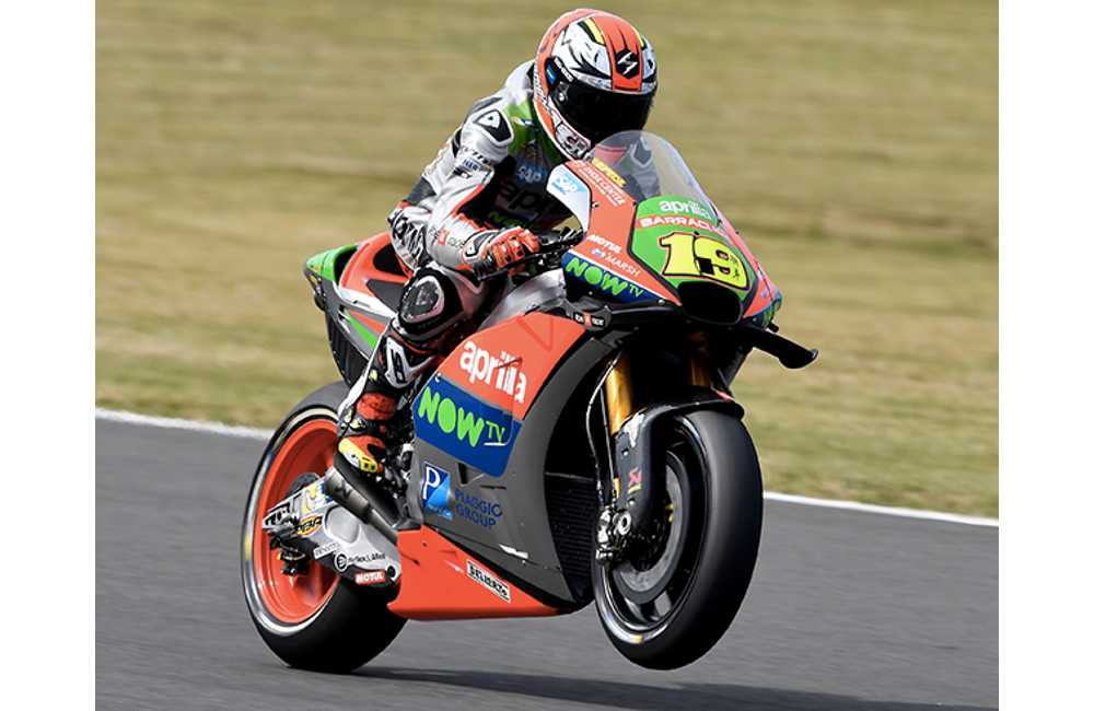ENCOURAGING START FOR APRILIA AT MOTEGI_0
