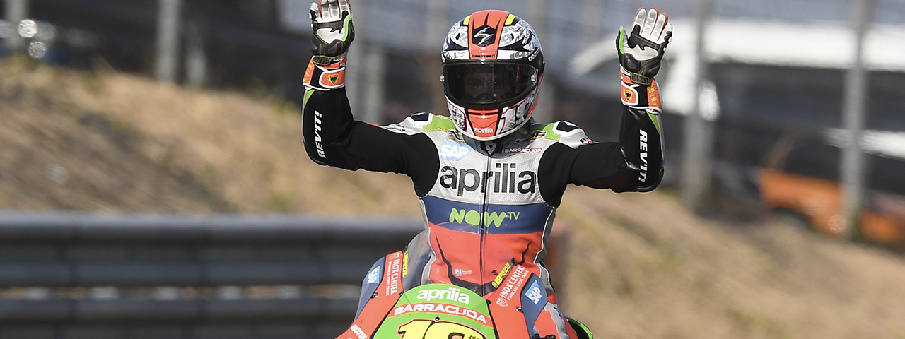 THE TWO APRILIAS IN THE TOP-10 AGAIN AT MOTEGI