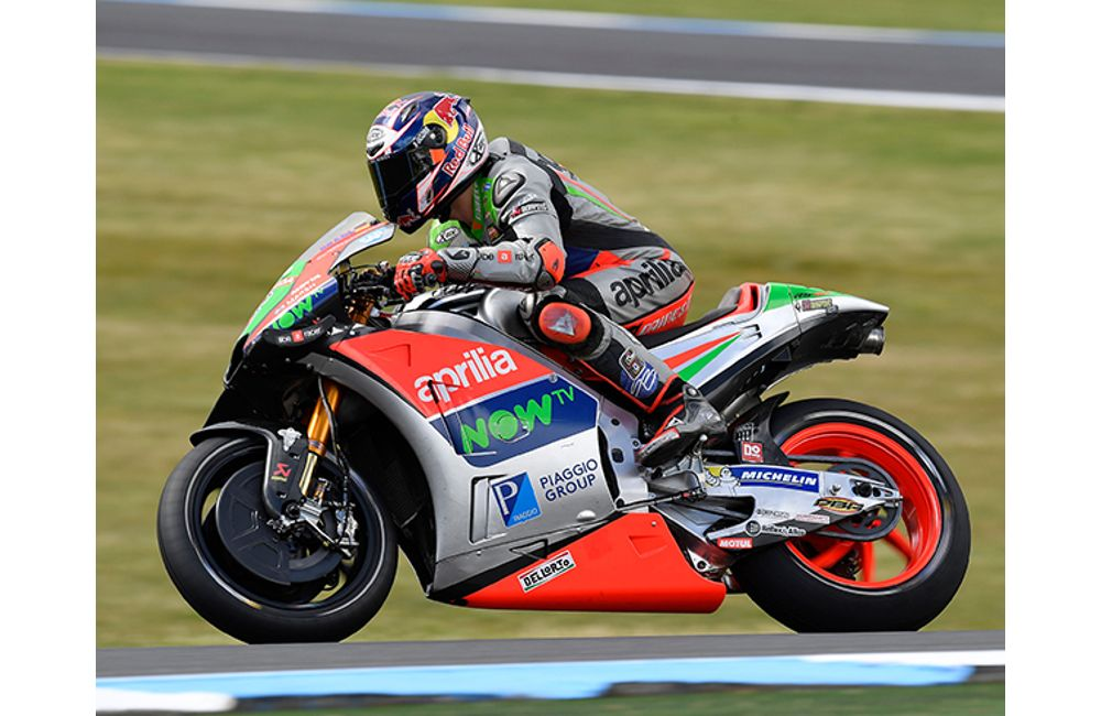 APRILIA BRINGS HOME THE BEST RESULT YET IN QUALIFYING AT PHILLIP ISLAND_1