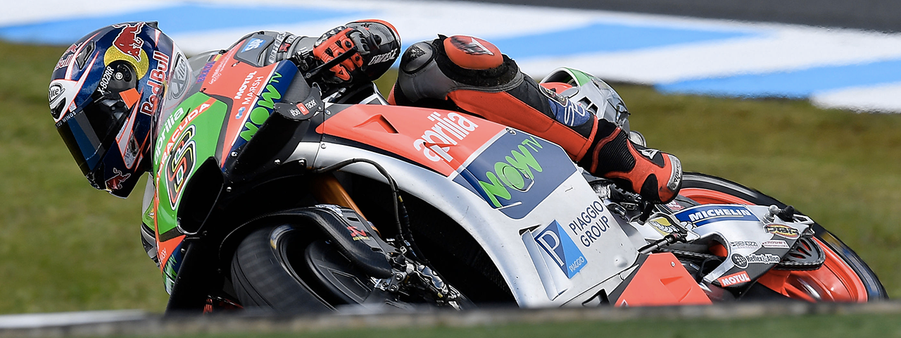 "MOTOGP ARRIVES AT THE LAST STOP ON THE ""TRIPLE HEADER"" TOUR FOR APRILIA"