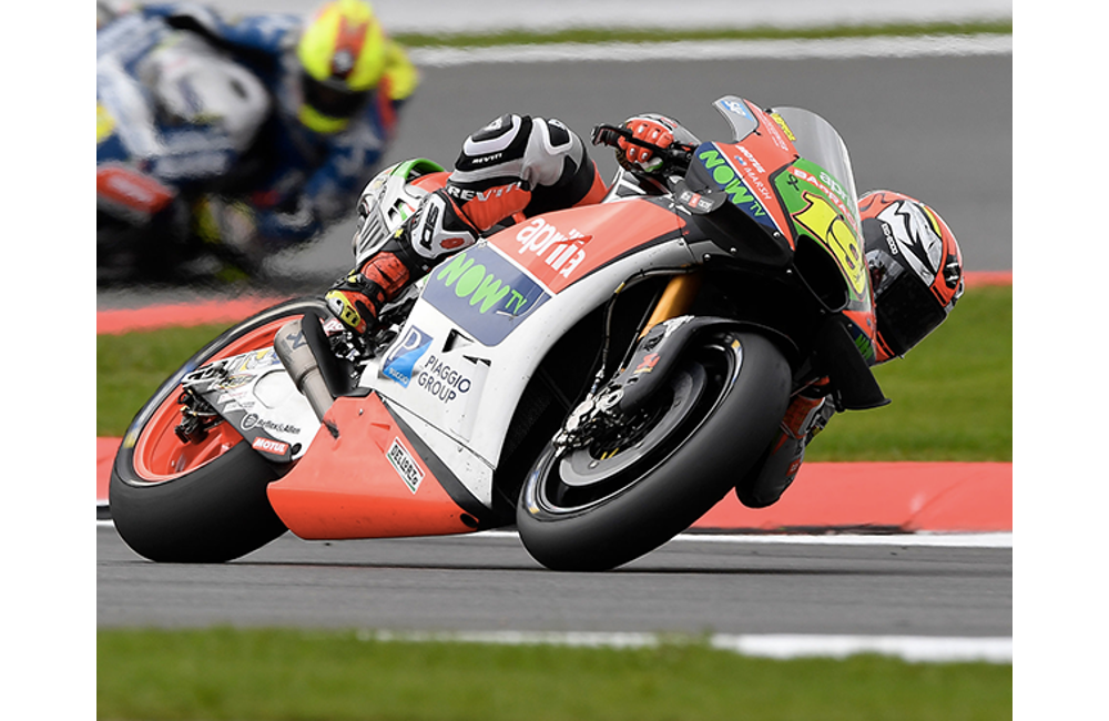 MOTOGP - APRILIA IN THE TOP-10 AT SILVERSTONE_MotoGP - Silverstone - Race2