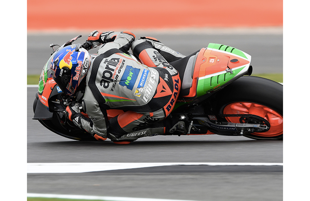 MOTOGP - APRILIA IN THE TOP-10 AT SILVERSTONE_MotoGP - Silverstone - Race3