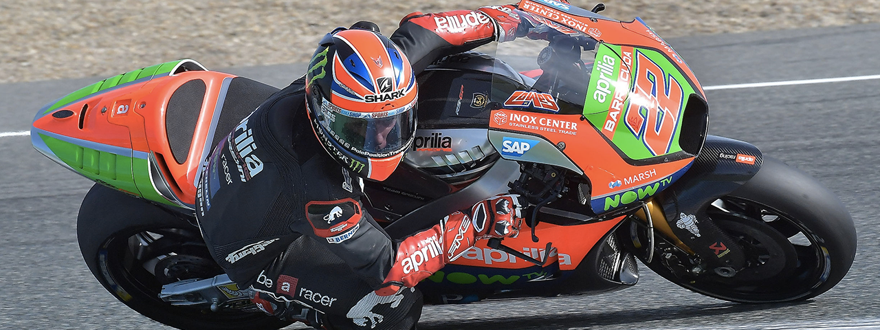 FINAL TESTS BEFORE THE WINTER BREAK FOR APRILIA