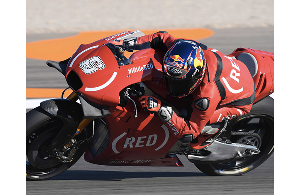 A VALENCIA IN PISTA LE APRILIA RS-GP IN LIVREA (RED)_1