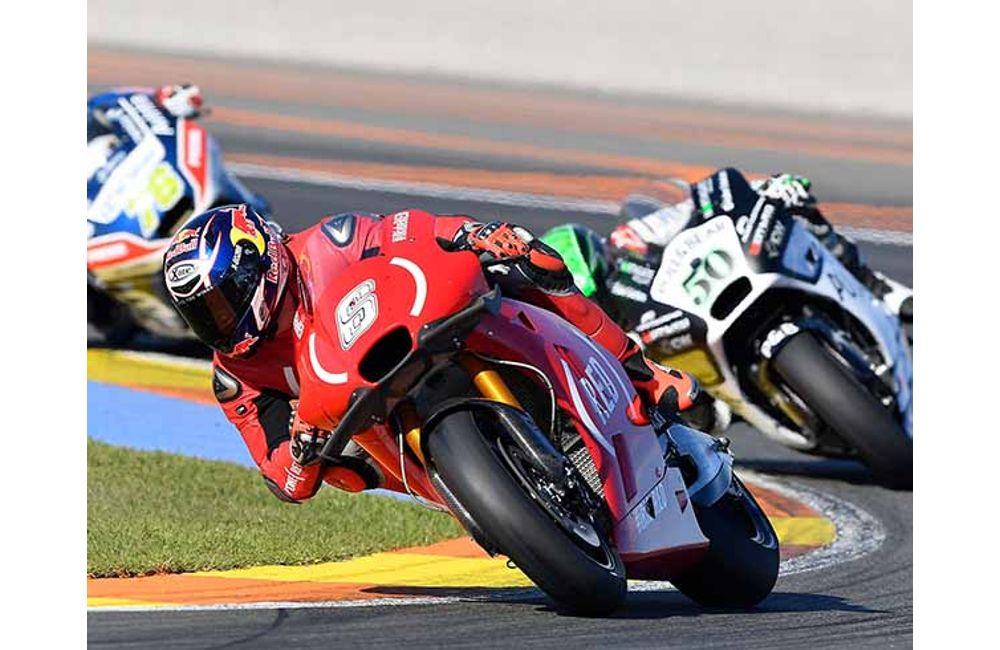 BOTH APRILIA RIDERS IN THE POINTS AT VALENCIA AND BAUTISTA IN THE TOP TEN AGAIN_1