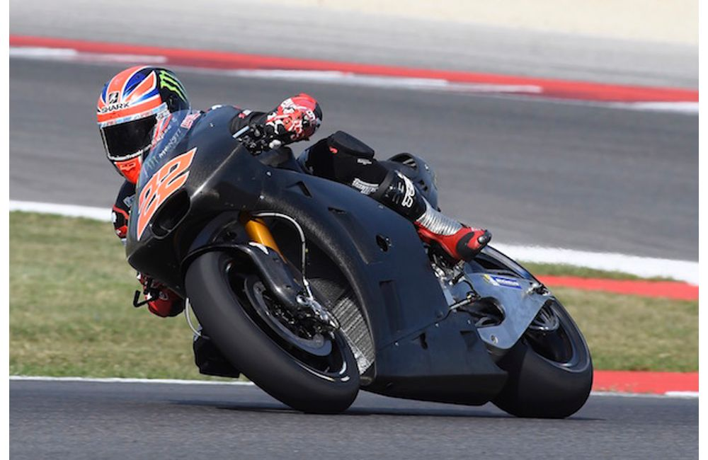 Sam Lowes per la prima volta in sella alla Aprilia RS-GP_Sam Lowes2