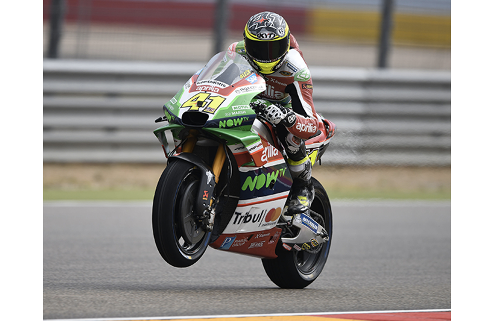 TWO APRILIAS IN THE TOP TEN AT ARAGÓN_0