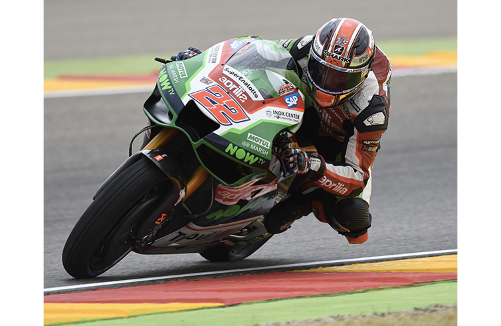 TWO APRILIAS IN THE TOP TEN AT ARAGÓN_1