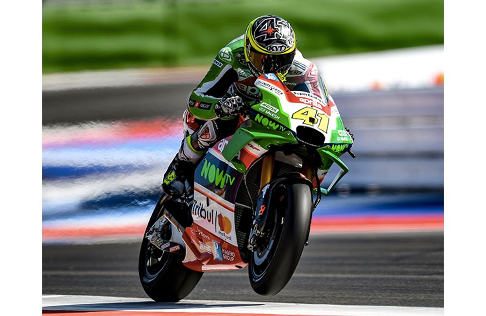 APRILIA IN ARAGÓN TO SUBSTANTIATE THE GROWTH OF THE RS-GP IN A RACE_0