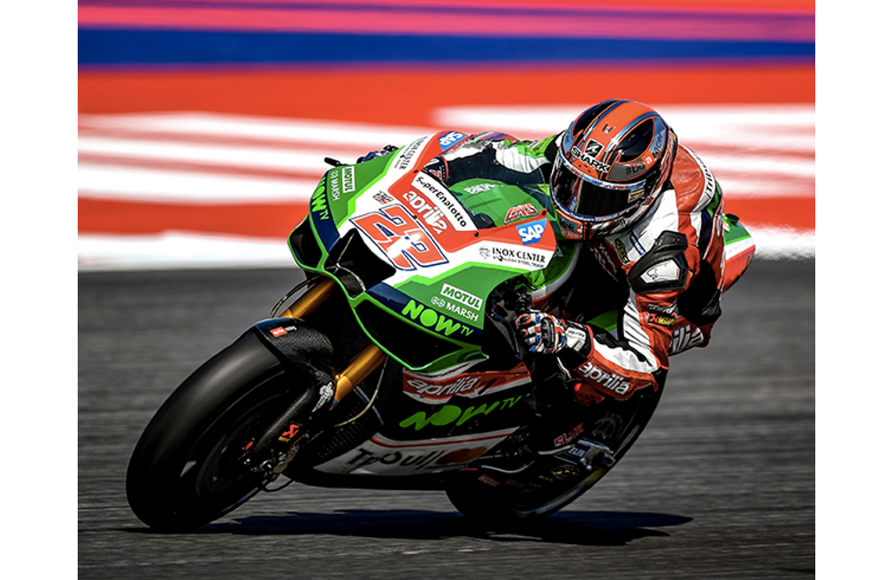 APRILIA IN ARAGÓN TO SUBSTANTIATE THE GROWTH OF THE RS-GP IN A RACE_1