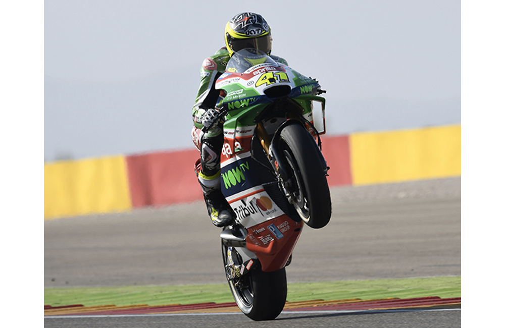GOOD PERFORMANCE FOR ESPARGARÓ AND APRILIA ON THE THIRD ROW_0