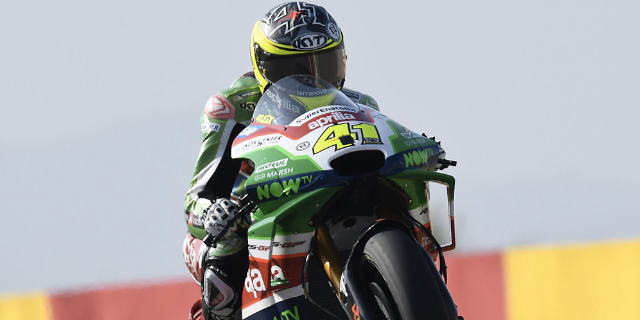 GOOD PERFORMANCE FOR ESPARGARÓ AND APRILIA ON THE THIRD ROW_thumb