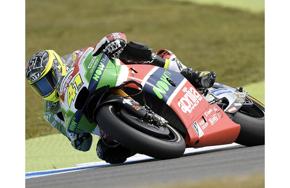 GOOD SIGNS FOR APRILIA IN THE FIRST PRACTICE SESSIONS _0