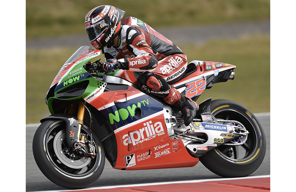 GOOD SIGNS FOR APRILIA IN THE FIRST PRACTICE SESSIONS _1