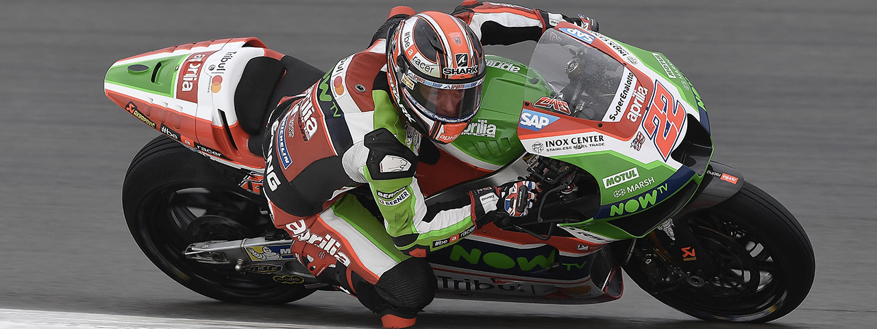 NICE PERFORMANCE FOR SAM LOWES WHO GOES THROUGH TO Q2 AND RIDES HIS RS-GP INTO THE TOP-TEN