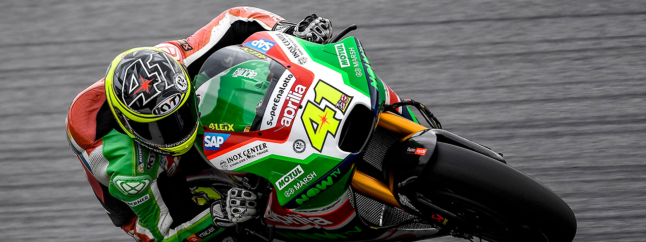 ALEIX ESPARGARÓ FAST ON THE FIRST DAY IN AUSTRIA