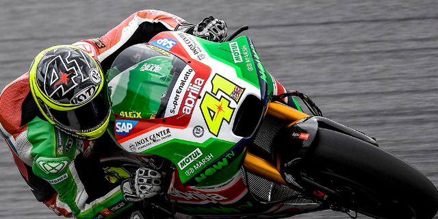 ALEIX ESPARGARÓ FAST ON THE FIRST DAY IN AUSTRIA_thumb