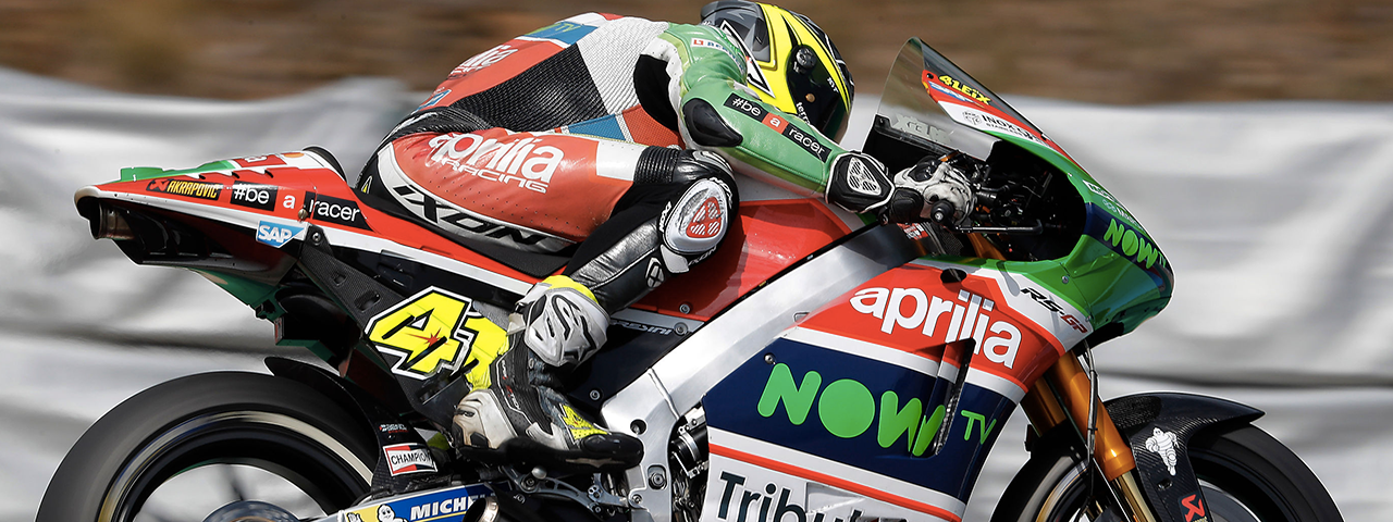 A GOOD START FOR APRILIA AT THE BRNO GP