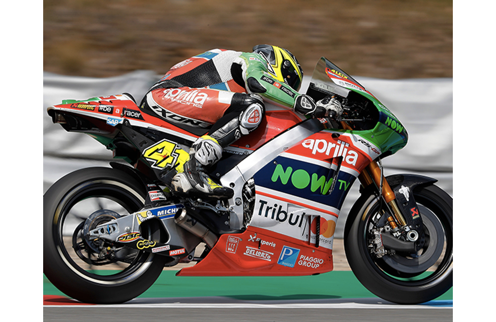 A GOOD START FOR APRILIA AT THE BRNO GP_0