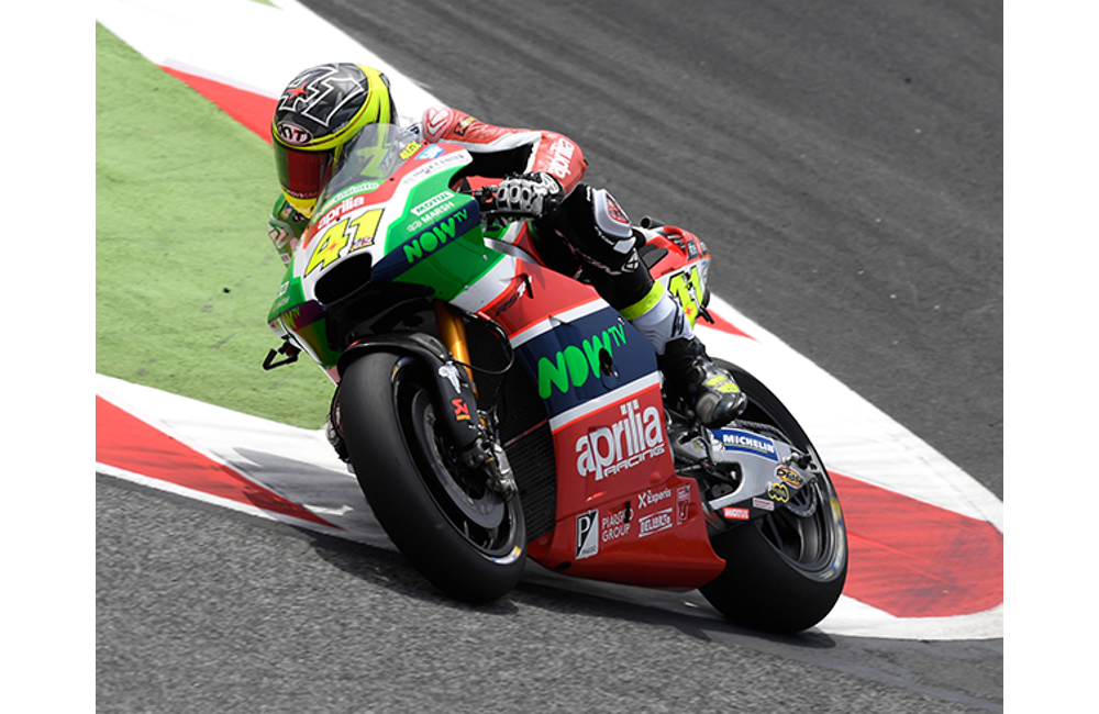 GOOD START AT BARCELONA FOR APRILIA_1
