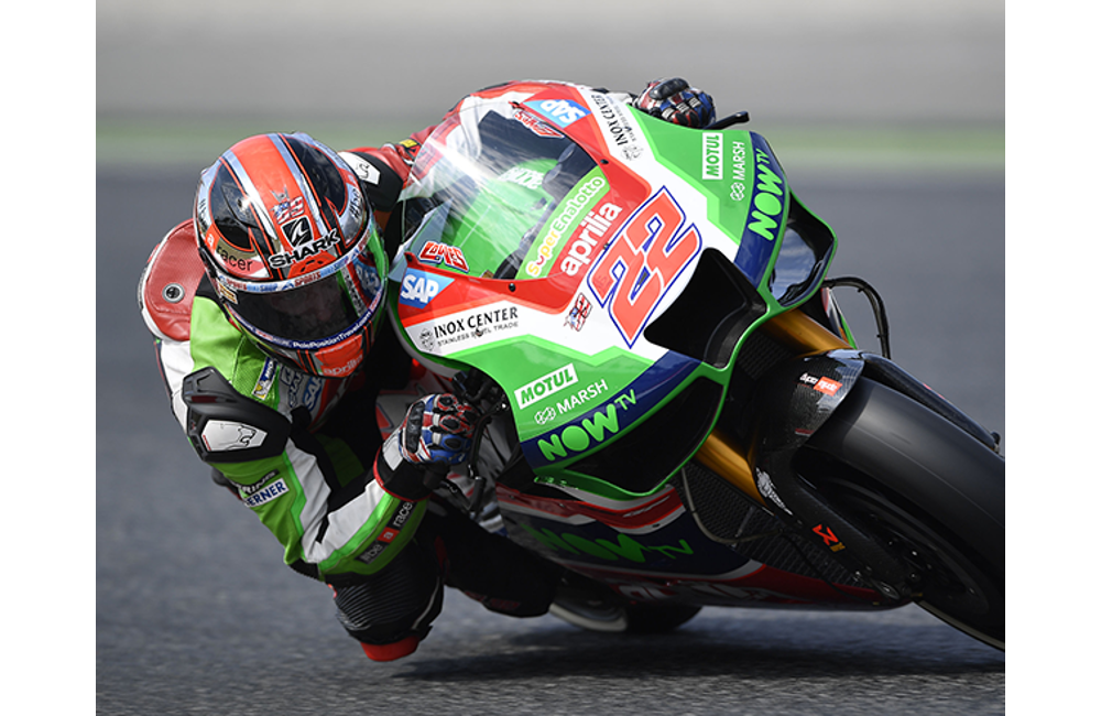 GOOD START AT BARCELONA FOR APRILIA_2