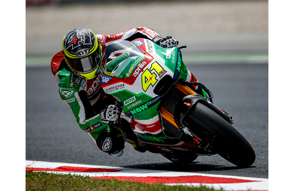 GOOD START AT BARCELONA FOR APRILIA_3