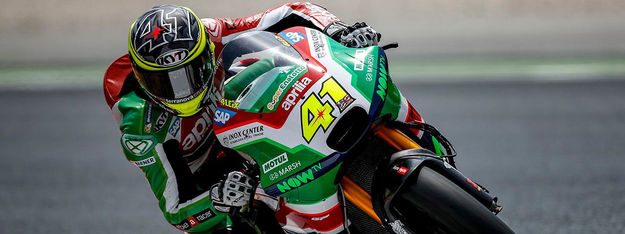GOOD START AT BARCELONA FOR APRILIA