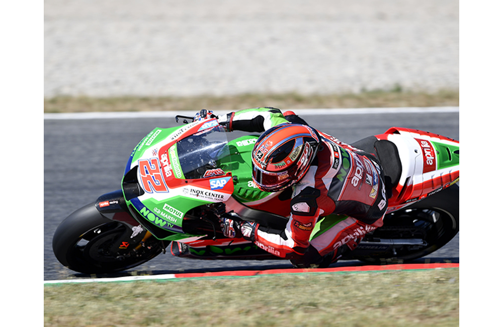 ALEIX ESPARGARÓ TAKES APRILIA TO THE SECOND ROW WITH THE FIFTH BEST TIME_1