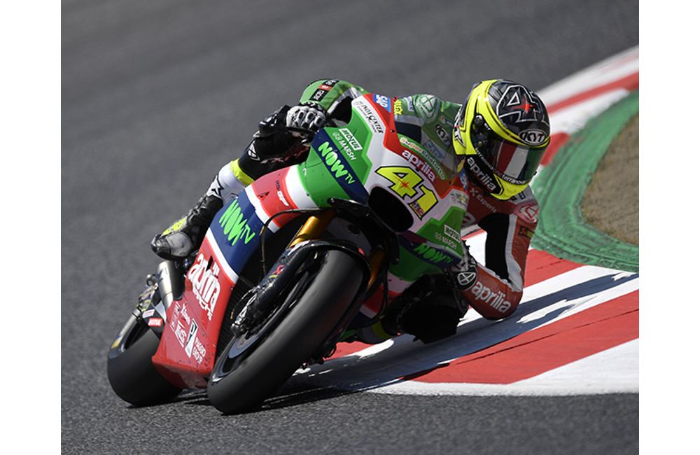 ALEIX ESPARGARÓ TAKES APRILIA TO THE SECOND ROW WITH THE FIFTH BEST TIME_2