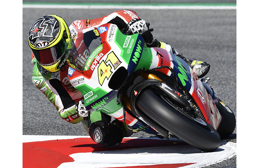 ALEIX ESPARGARÓ TAKES APRILIA TO THE SECOND ROW WITH THE FIFTH BEST TIME_3