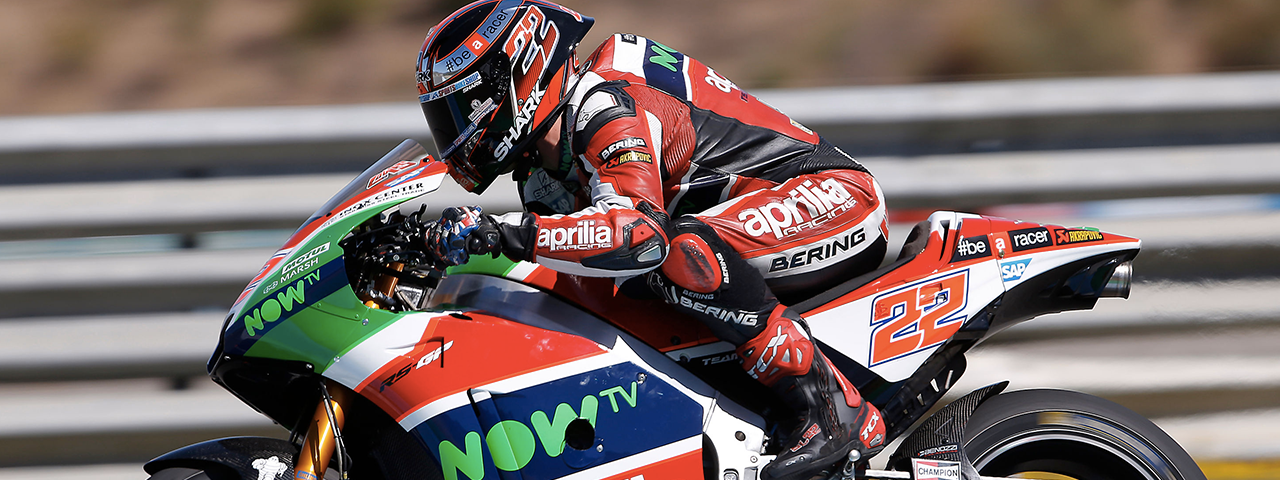 A POSITIVE DAY OF TESTS FOR APRILIA AT JEREZ DE LA FRONTERA