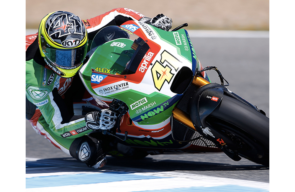 A POSITIVE DAY OF TESTS FOR APRILIA AT JEREZ DE LA FRONTERA_0