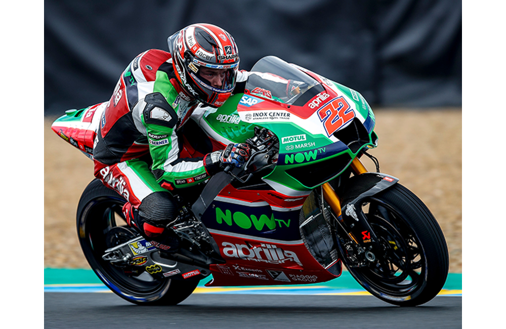 THE APRILIA MACHINES DO WELL IN THE WET AT LE MANS_2