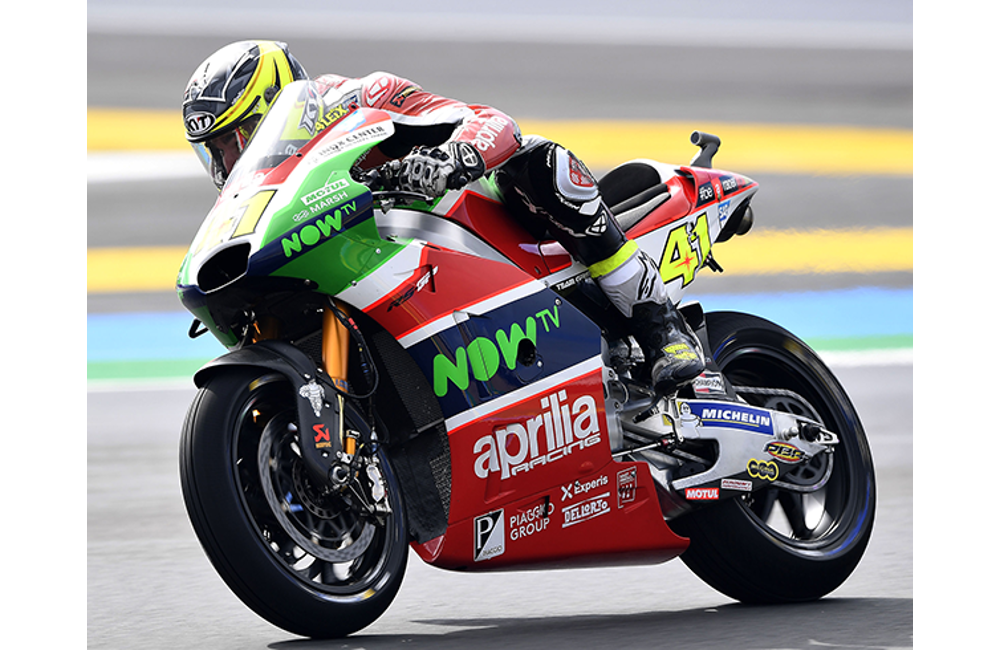 THE APRILIA MACHINES DO WELL IN THE WET AT LE MANS_3