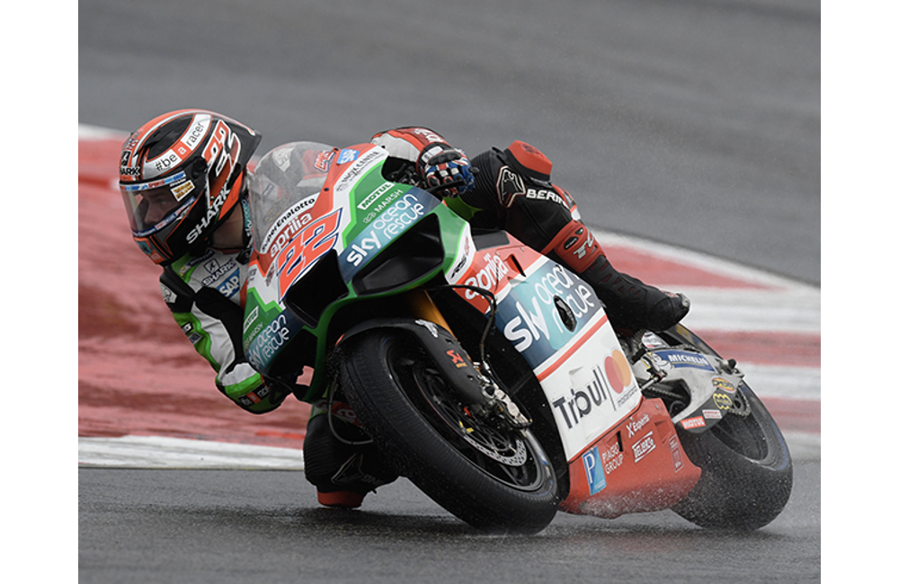 DOUBLE CRASH FOR ESPARGARÓ AND LOWES, BOTH WERE INTO THE TOP-TEN_1