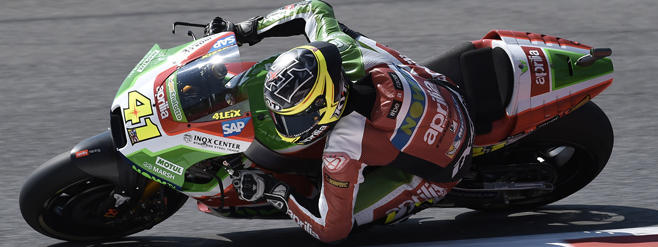 ESPARGARÓ RIDES HIS APRILIA DIRECTLY INTO Q2