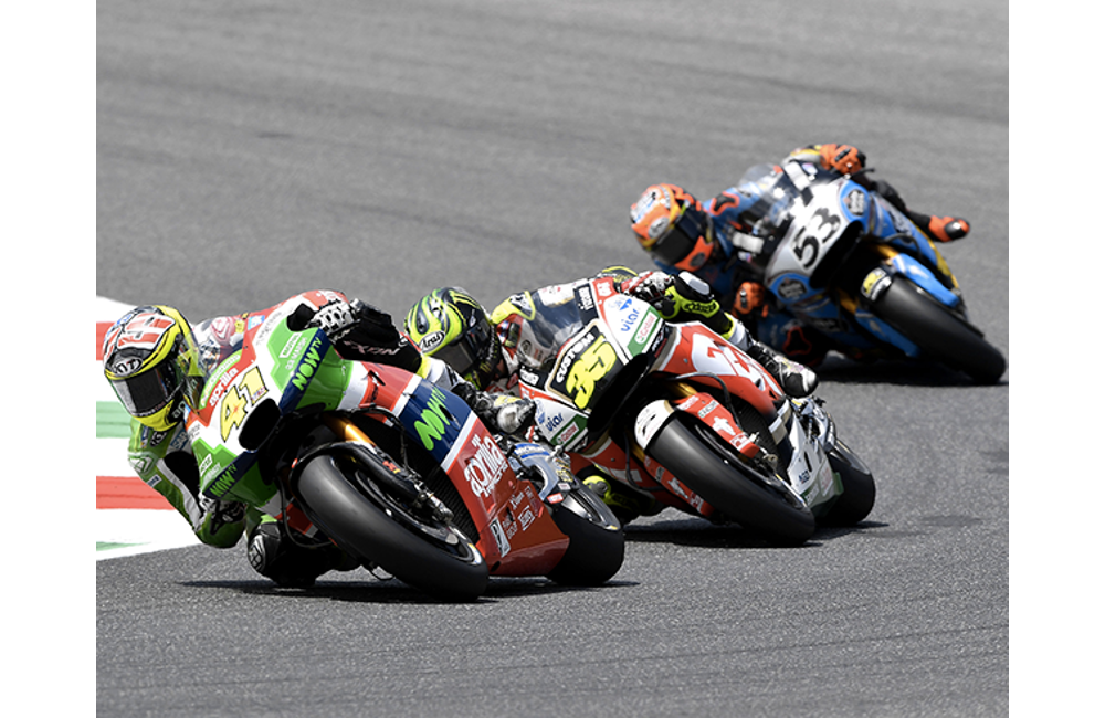 ONLY A PENALTY FOR A JUMP START PUT THE BRAKES ON ESPARGARÓ'S AMBITIONS AT MUGELLO_0
